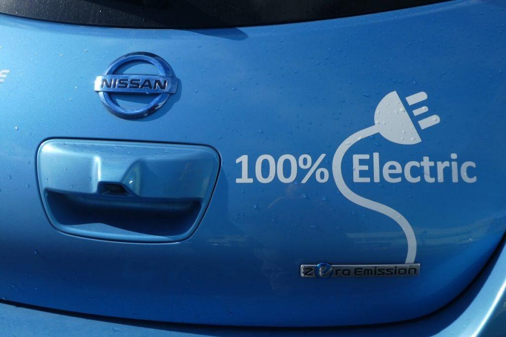 Elektrický automobil Nissan