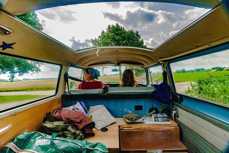 Cestování v karavanu