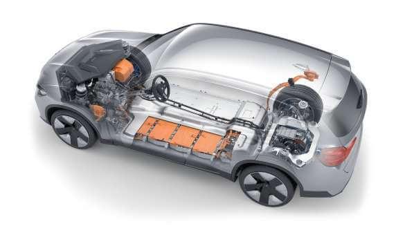 BMW iX3 elektromotor