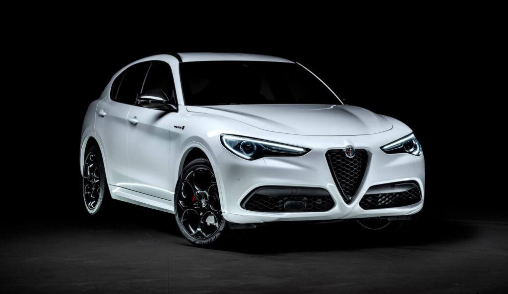 Alfa Romeo Stelvio Veloce Ti front photoshoot