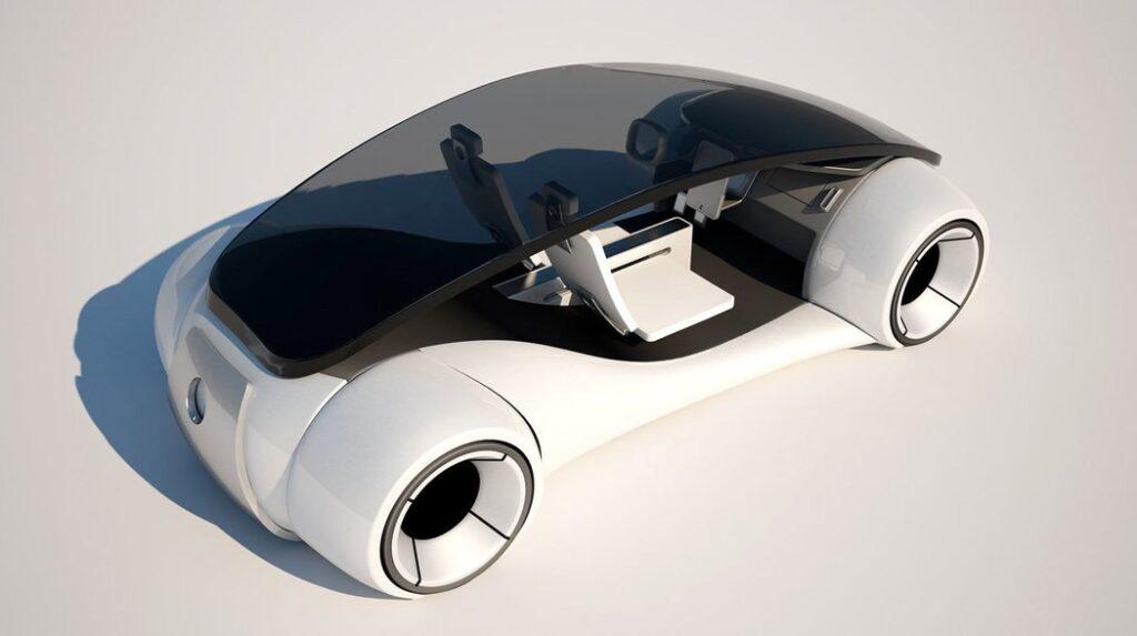 Apple car exterier