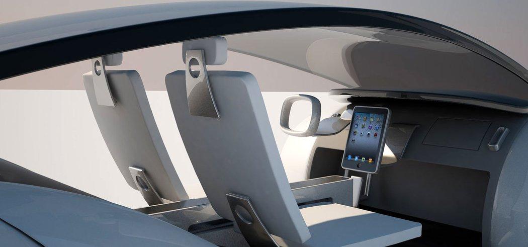 Apple car interier