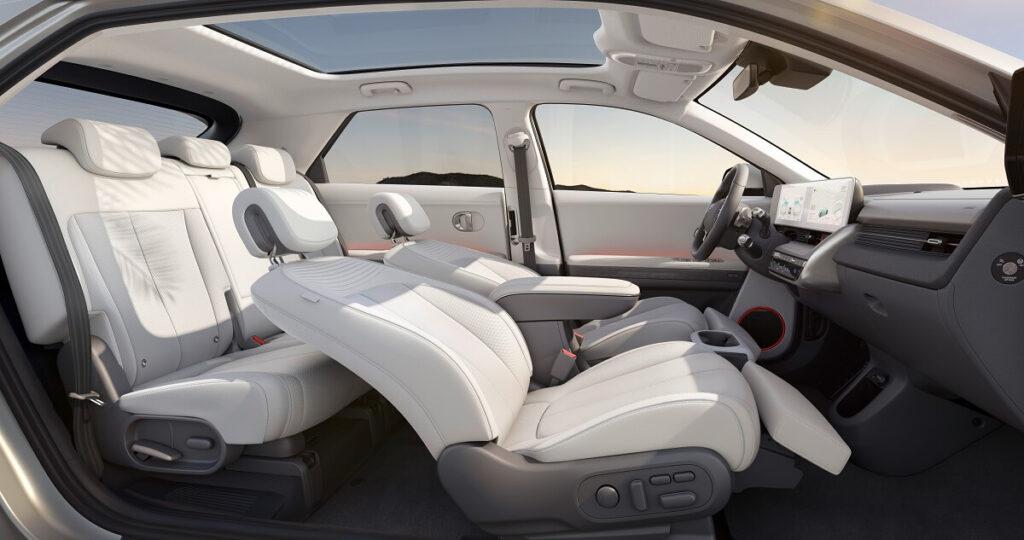 Hyundai Ioniq 5 - polohovatelné sedačky