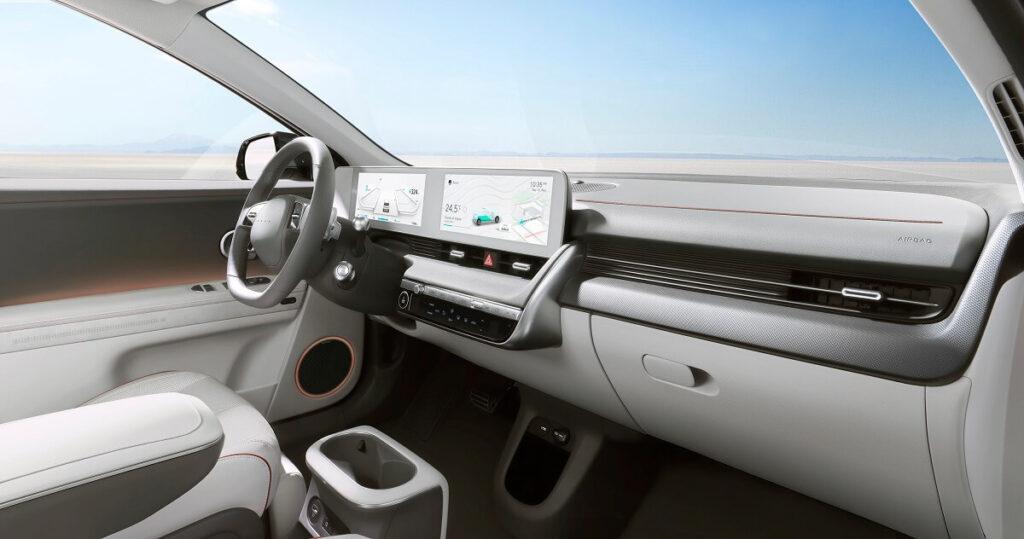 Hyundai ioniq 5 - palubní počítač